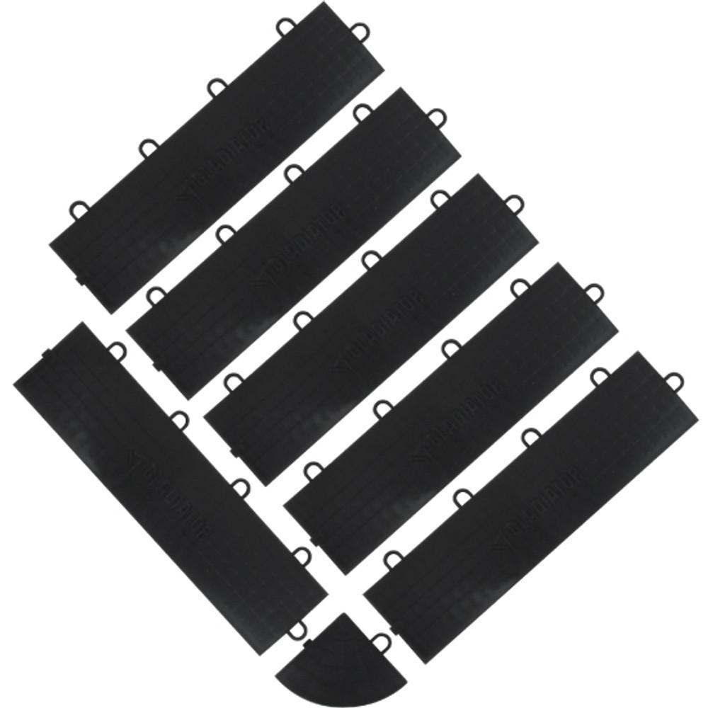 Gladiator Black Edge Trim - Female (6 Pack + 1 Corner)