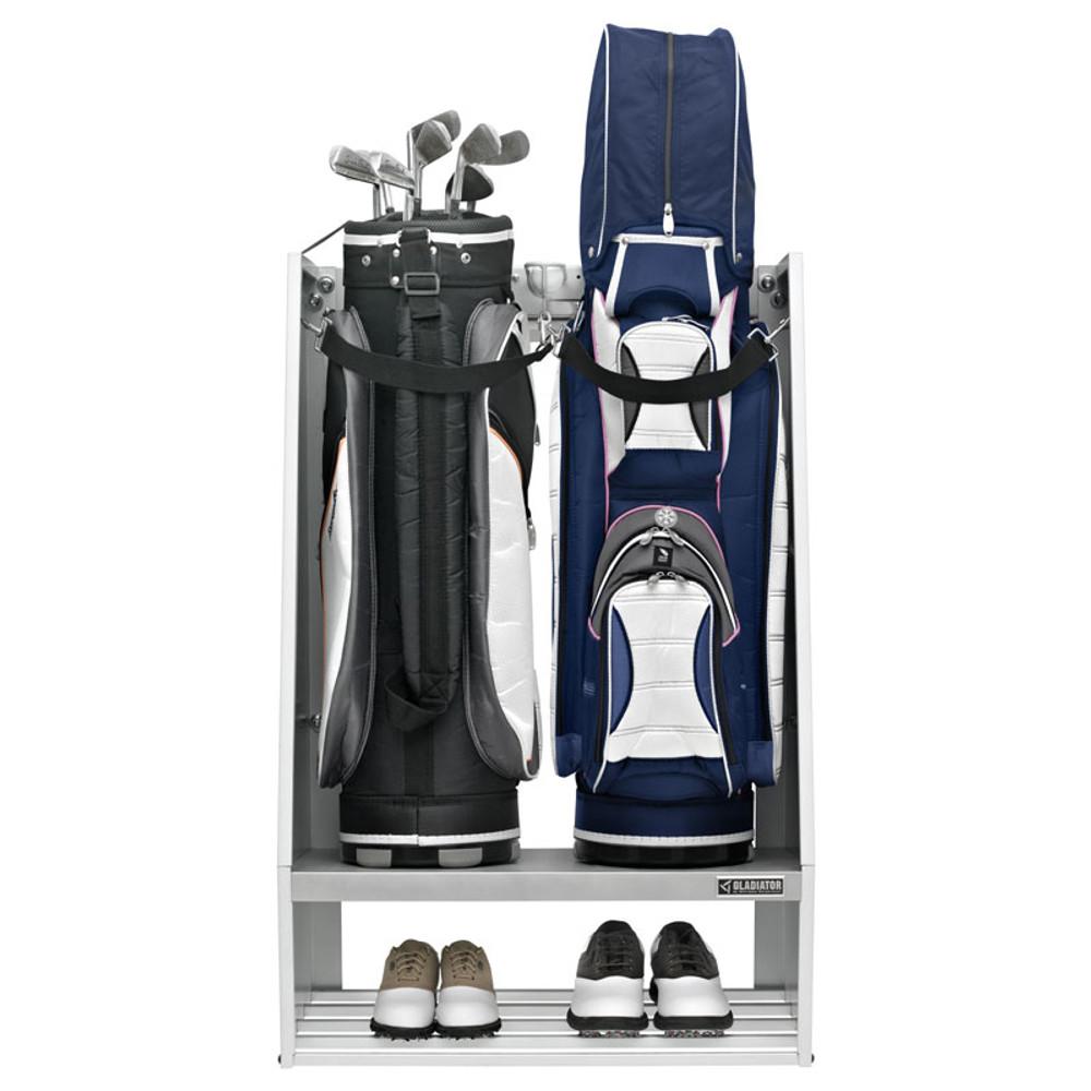 Gladiator White Golf Caddy