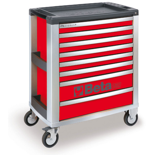 Beta Tools C39-8/R Mobile Roller Cabinet with 8 Drawers - Red