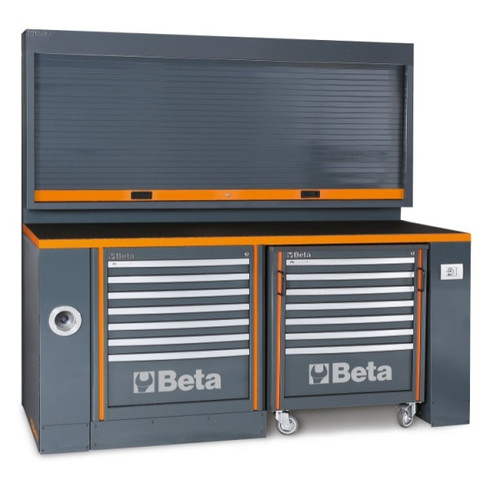 Beta Tools C55PB-PRO/5 Workbench for Workshop Equipment Combination