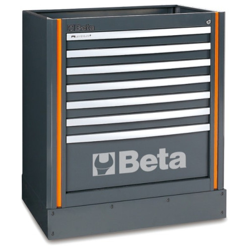 Beta Tools C55M7 Fixed Module with 7 Drawers