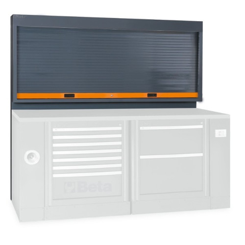 Beta Tools C55PS-G Tool Wall System with Shutter - Grey