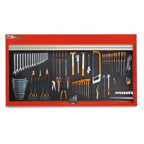 Beta Tools C57SP-R Panel Tool Holder - Red