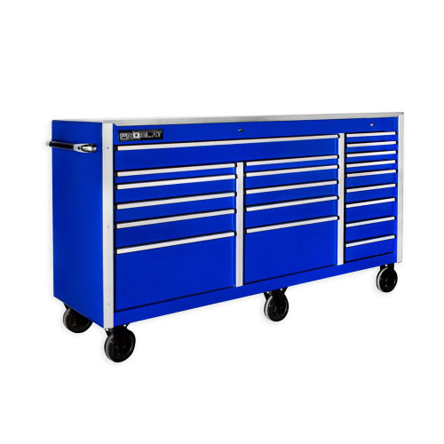 "Proslat MCS 73"" Rolling Tool Chest with Work Surface - Blue"