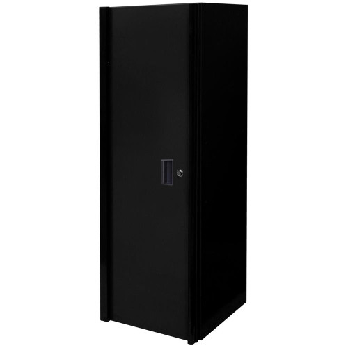 "Extreme Tools RX 19"" x 25"" Deep 3 Drawer/3 Shelf Side Locker - Matte Black"