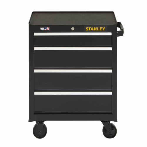 """Stanley 300 Series 26"""" 4-Drawer Rolling Tool Cabinet"""
