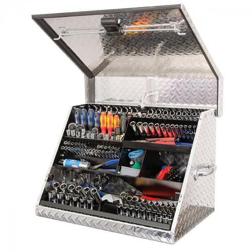 """Montezuma 26"""" x 18"""" Portable Aluminum Toolbox"""