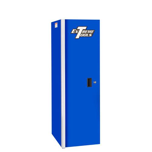 """Extreme Tools RX 19"""" x 25"""" Deep 3 Drawer/3 Shelf Side Locker - Blue"""