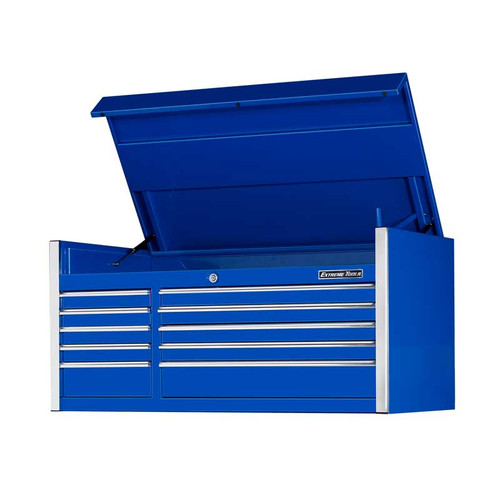 "Extreme Tools 55"" 10-Drawer Professional Tool Chest - Blue"