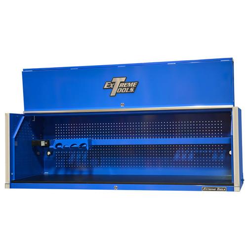 "Extreme Tools RX Series 72"" x 25"" Deep Triple Bank Hutch - Blue"