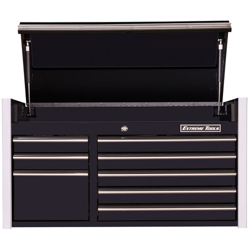 "Extreme Tools RX Series 41"" 8-Drawer Top Chest - Black"