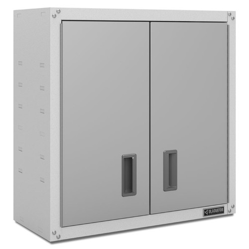 Gladiator Ready-to-Assemble White Full-Door Wall GearBox
