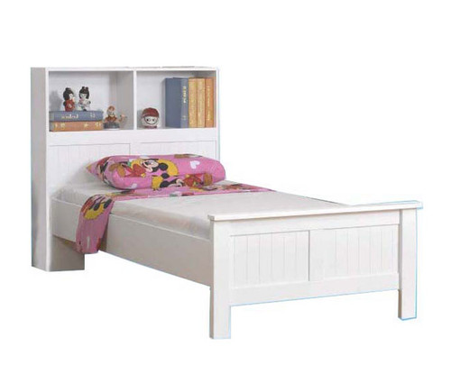 Angel Single Bed with Bookcase