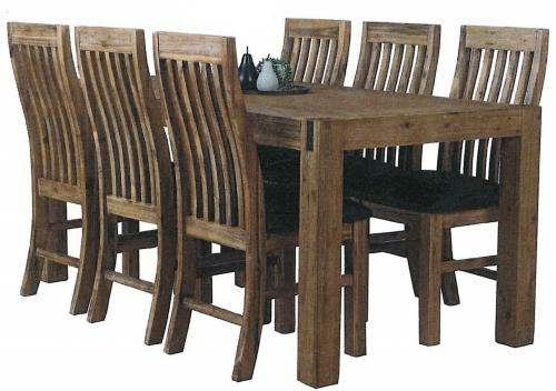 Sterling 7 PCE Rectangle Dining Set