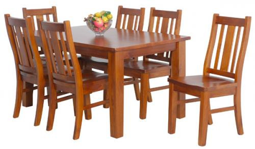 Kingsley 7 PCE Dining Set