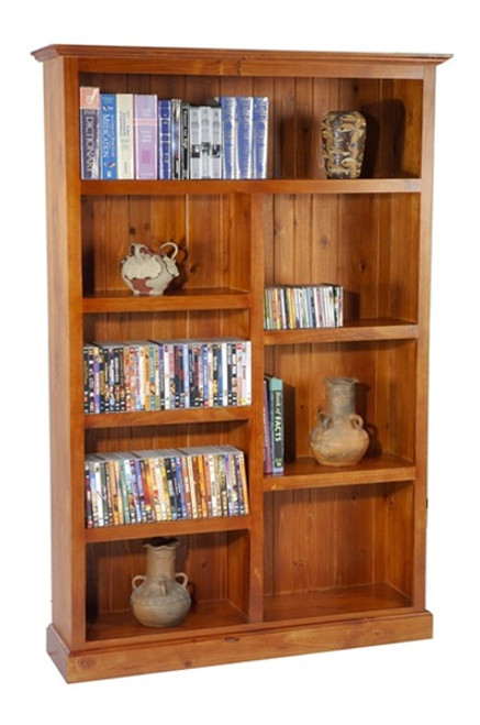 Shellby Bookcase (D) - 120x33x180
