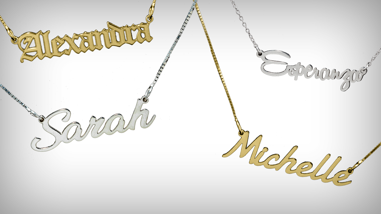 Nameplate Jewelry