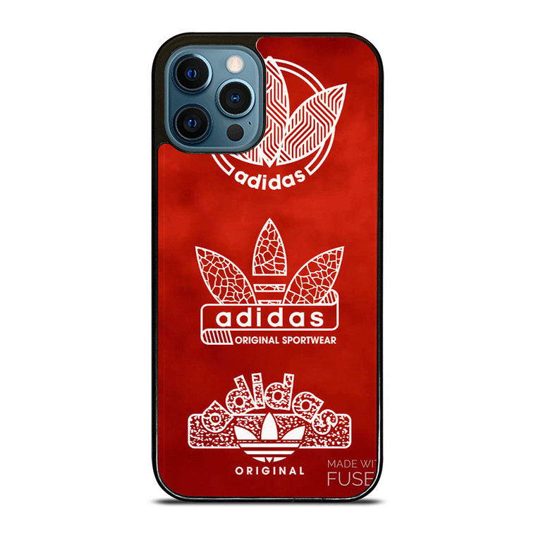 ADIDAS LOGO MADE WITH FUSED iPhone 12 Pro Case Cover