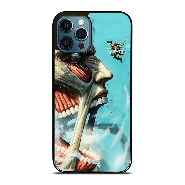 ATTACK ON TITAN COLOSSAL HEAD iPhone 12 Pro Case Cover