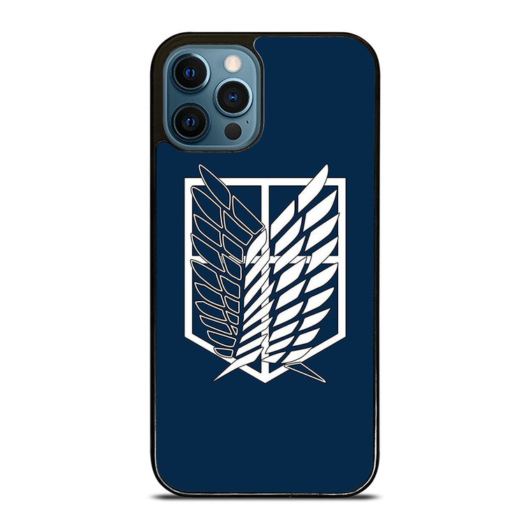 ATTACK ON TITAN SYMBOL WINGS OF FREEDOM iPhone 12 Pro Case Cover