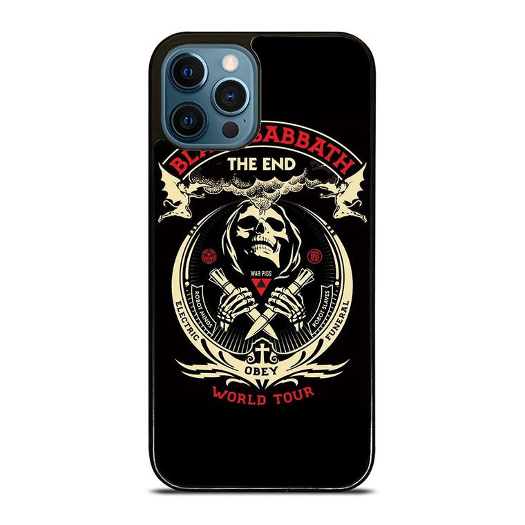 BLACK SABBATH THE END OBEY iPhone 12 Pro Case Cover