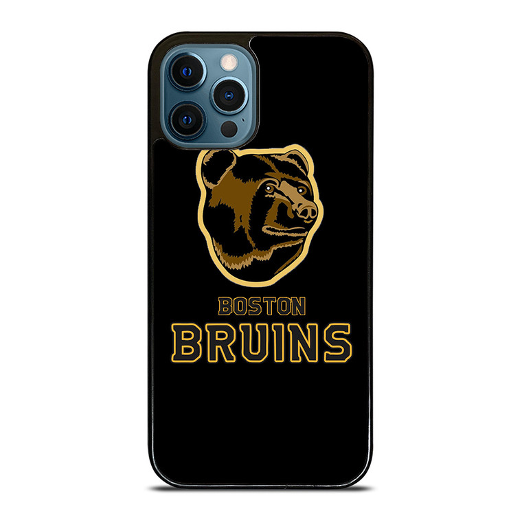 BOSTON BRUINS NHL MASCOT iPhone 12 Pro Case Cover