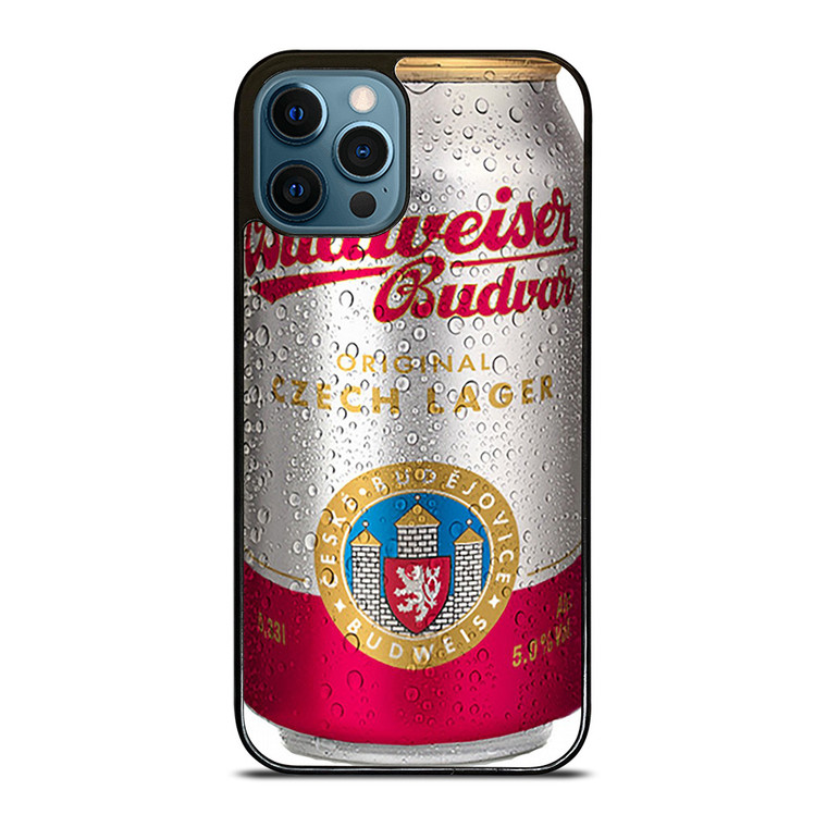 BUDWEISER BUDVAR iPhone 12 Pro Case Cover