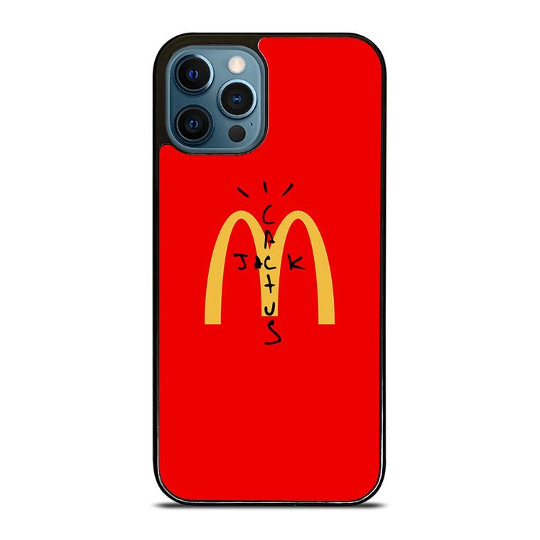 CACTUS JACK TRAVIS SCOTT MCDONALDS iPhone 12 Pro Case Cover