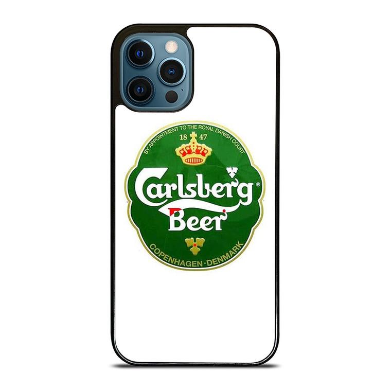 CARLSBERG BEER COPENHAGEN DENMARK LOGO iPhone 12 Pro Case Cover