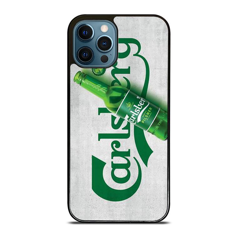 CARLSBERG PILSNER BOTTLE iPhone 12 Pro Case Cover