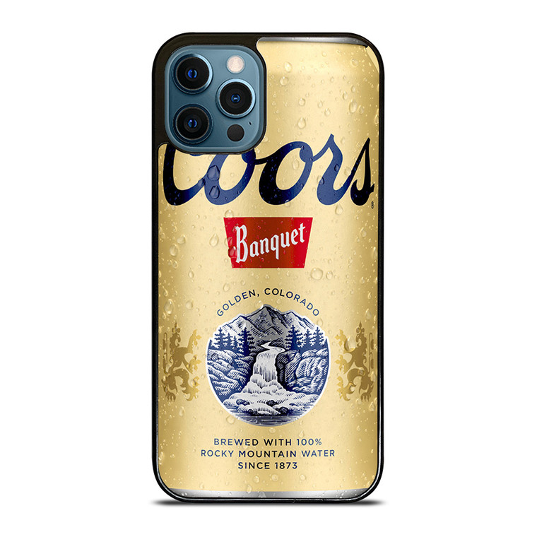 COORS BANQUET iPhone 12 Pro Case Cover