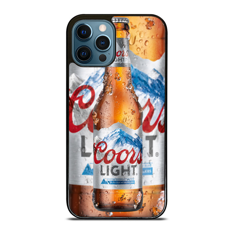 COORS LIGHT BEER BOTTLE iPhone 12 Pro Case Cover