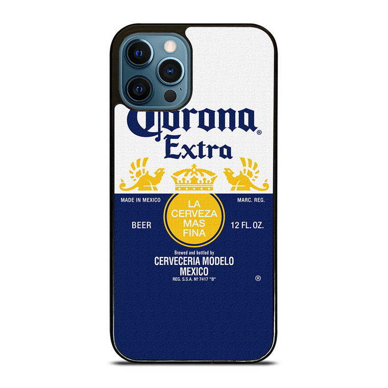 CORONA BEER MADE IN MEXICO iPhone 12 Pro Case Cover