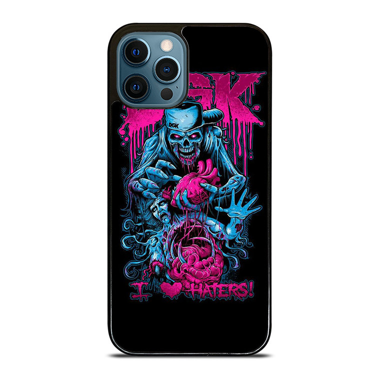DGK I LOVE HATERS iPhone 12 Pro Case Cover