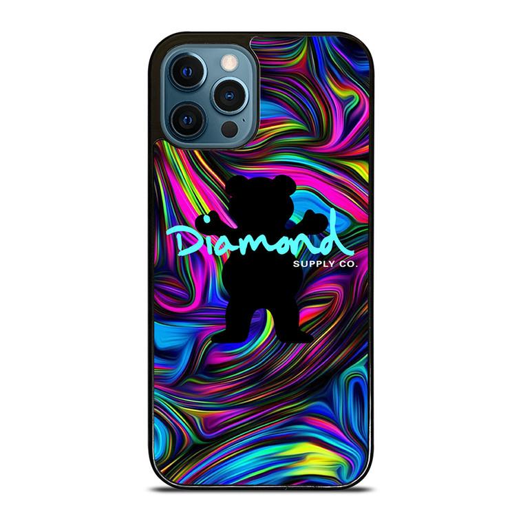DIAMOND SUPPLY BEAR iPhone 12 Pro Case Cover