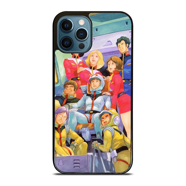 GUNDAM CARTOON CHARACTER iPhone 12 Pro Case Cover