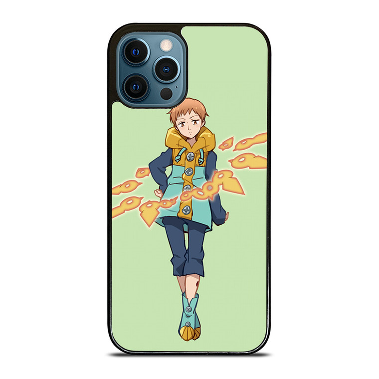 KING 7 SEVEN DEADLY SINS ANIME iPhone 12 Pro Case Cover