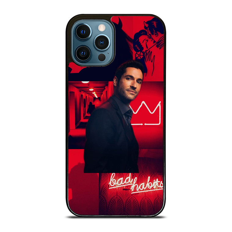 LUCIFER MOVIES BAD HABITS iPhone 12 Pro Case Cover