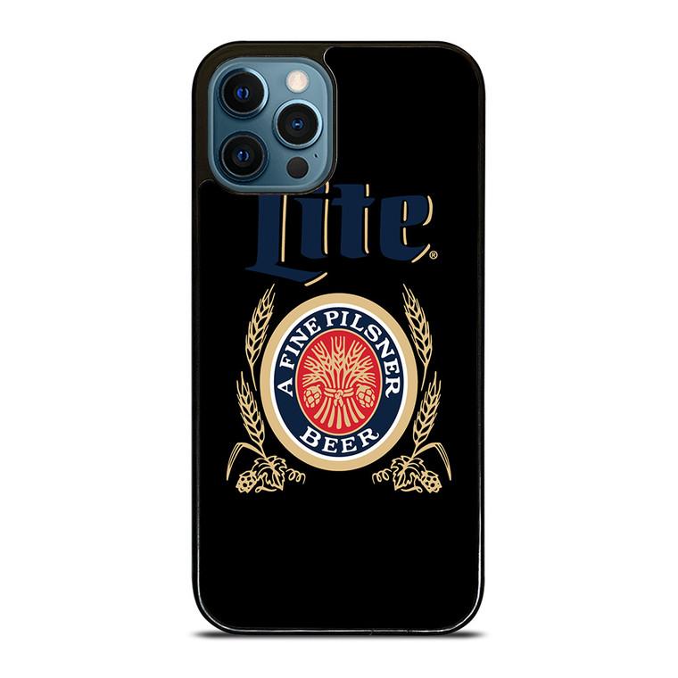 MILLER LITE BEER LOGO iPhone 12 Pro Case Cover