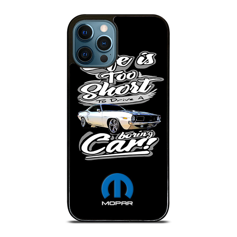 MOPAR CAR QUOTES iPhone 12 Pro Case Cover