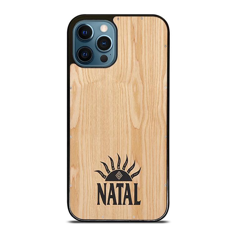 NATAL DRUM LOGO WOODEN CAJON iPhone 12 Pro Case Cover