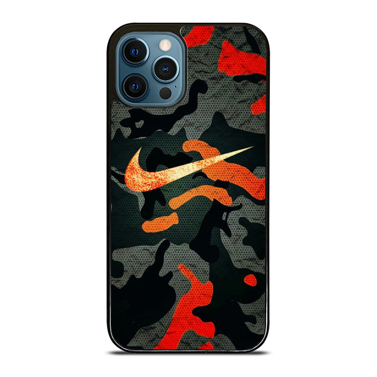 NIKE COLORFUL CAMO iPhone 12 Pro Case Cover