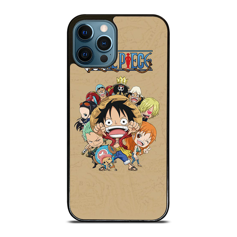ONE PIECE ANIME KAWAII iPhone 12 Pro Case Cover
