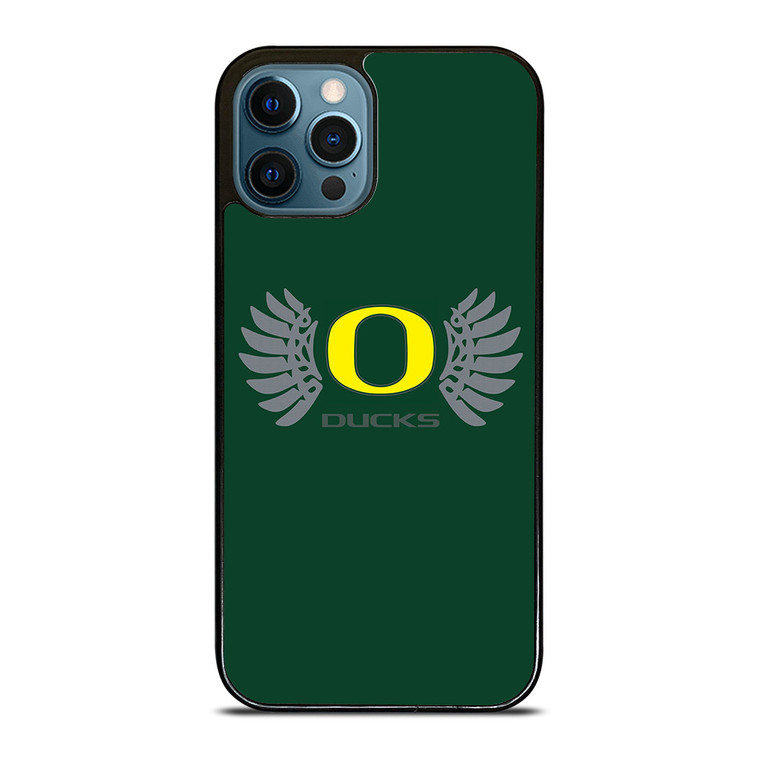 OREGON DUCKS LOGO iPhone 12 Pro Case Cover