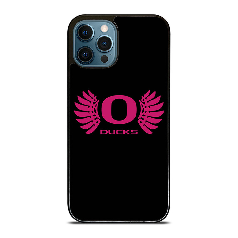 OREGON DUCKS PINK GIRL iPhone 12 Pro Case Cover