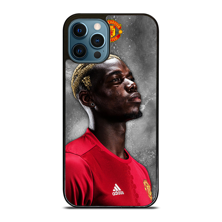 PAUL POGBA MANCHESTER UNITED iPhone 12 Pro Case Cover