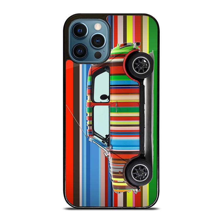 PAUL SMITH MINI COOPER STRIPE iPhone 12 Pro Case Cover