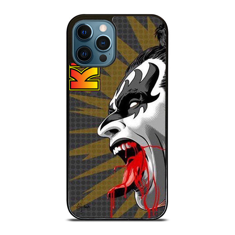 PAUL STANLEY KISS BAND iPhone 12 Pro Case Cover