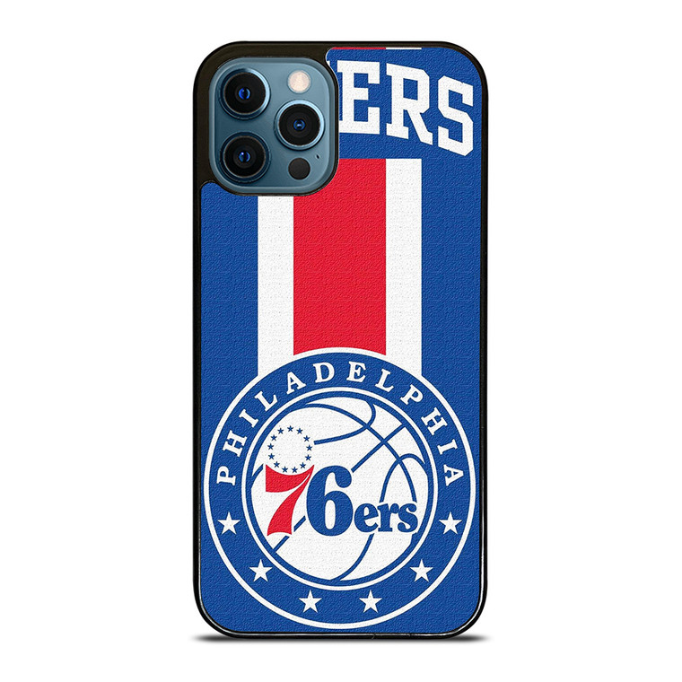PHILADELPHIA 76ERS SIXERS LOGO iPhone 12 Pro Case Cover