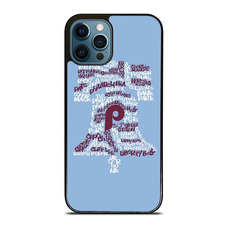 PHILADELPHIA PHILLIES ICON iPhone 12 Pro Case Cover